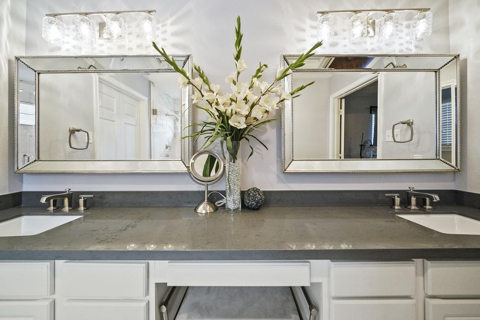 W 24th St Vanity Top bathroom remodel