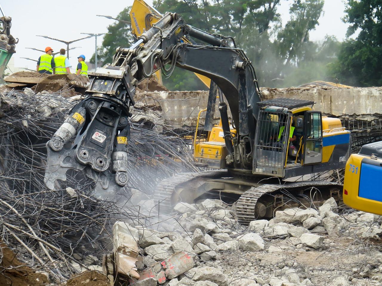 crash, demolition, destroyed