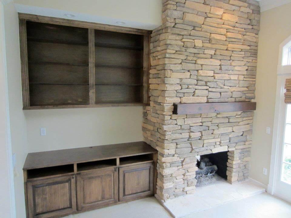 Fireplace Cabinets Houston
