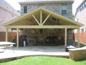 Patio Cover Installation Example 26
