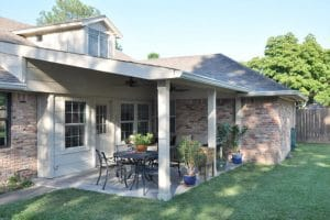 Patio Cover Installation Example 35