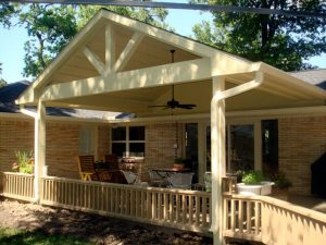 Patio Cover Installation Example 4