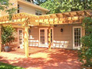 Patio Cover Installation Example 5