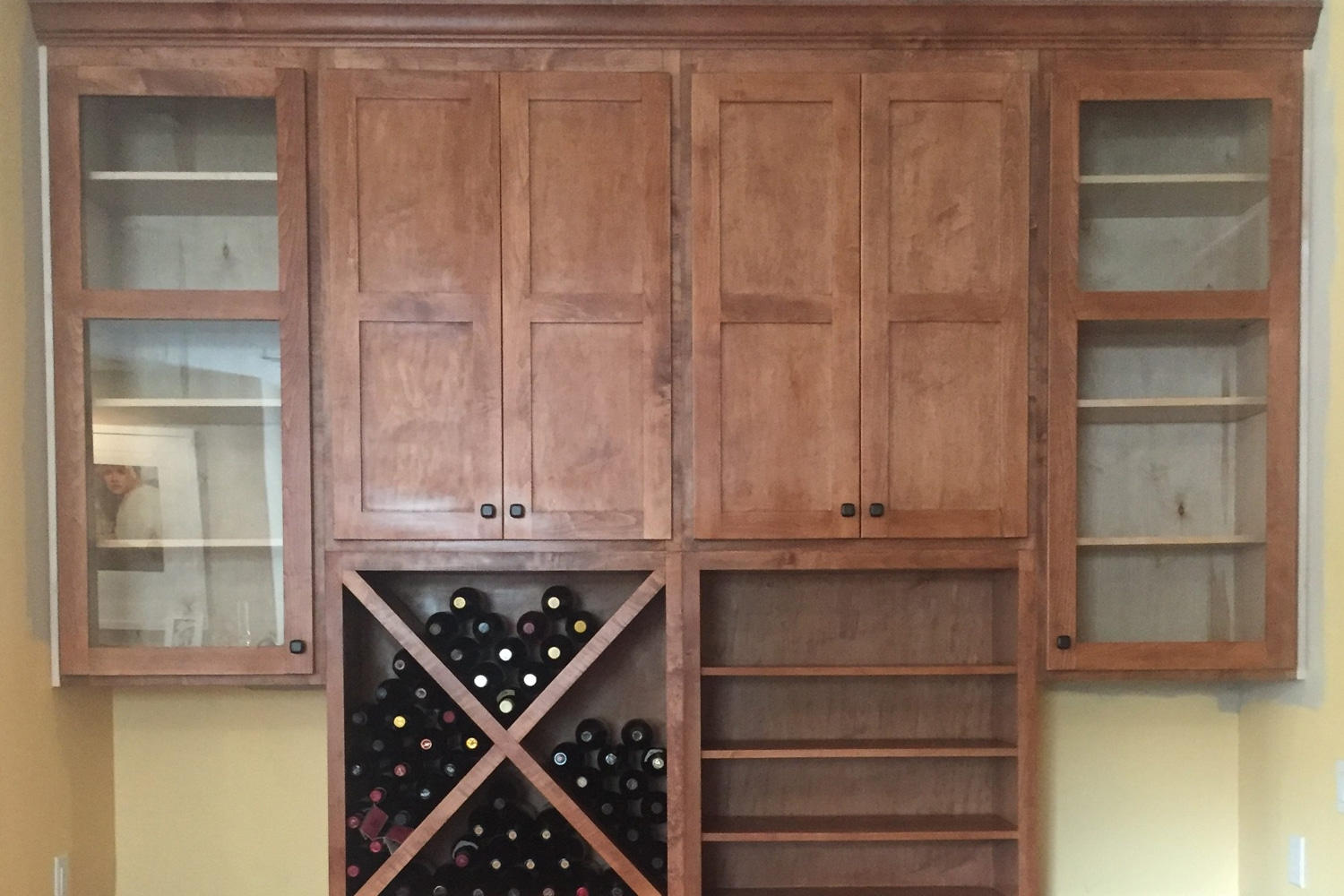 1810 Fairview Finished Cabinet Repair